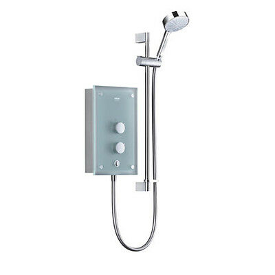 Mira Azora Frosted Glass Electric Shower 9.8 KW • 220£