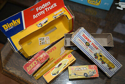 DINKY TOYS - Variety Of Spare Boxes! All Original With Aging. • 10£