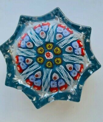 Large Strathearn Millefiori Glass Paperweight • 8.99£