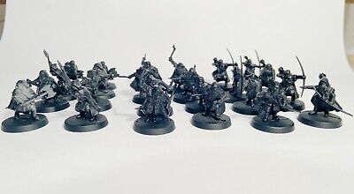 Dwarf Rangers X24 – Plastic - Lord Of The Rings - LOTR - Middle Earth – SBG - GW • 17£