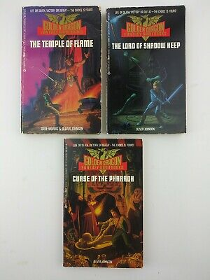 AU45.21 • Buy Golden Dragon Fantasy Game Books DUNGEONS And DRAGONS **RARE** 2,3,5