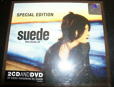 Suede – The Best Of 2 CD + DVD Special Edition – New     • 38.81£