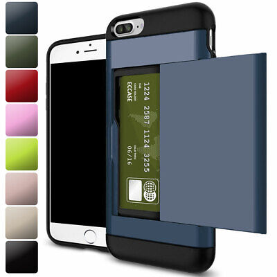 AU7.26 • Buy Shockproof Wallet Credit Card Holder Phone Case Cover For IPhone 7 8 6s Plus SE2