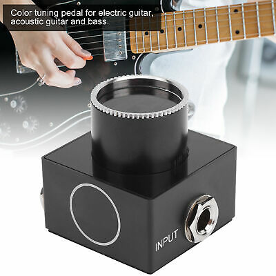 $ CDN35.35 • Buy Guitar Pedal Tuner Bright LED Display For Electric Acoustic Guitar Bass Aluminum