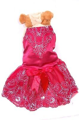Pet Palace®  Baby Flower  Elegant Dog Dress For Weddings And Special Occasions • 14.99£