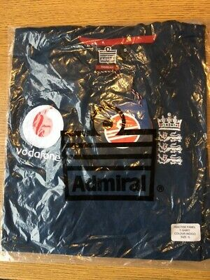 Admiral England ECB One Day International Cricket Practice Shirt - Size Small • 6£
