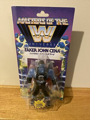 $33.99 • Buy Unpunched Masters Of The WWE Universe *FAKER JOHN CENA* Action Figure MOTU New ✅