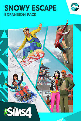 AU27.13 • Buy Sims 4 Snowy Escape - PC EA Origin Digital Key - Expansion Pack - Global