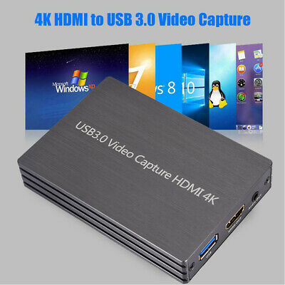 NK-S300 4K HDMI To USB 3.0 Video Capture Box Dongle 1080P 60fps Video Recorder • 38.39£