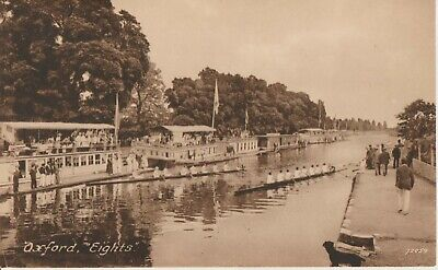 Frith Postcard Oxford  Eights  1922 • 0.99£