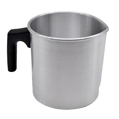 £9.84 • Buy Wax Melting Pot Pouring Pitcher Jug Large Stainless Steel Pot Candle Soap Making