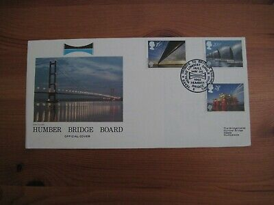 1983 HUMBER BRIDGE BOARD Limited Edition First Day Cover No.388/775 Special H/S • 4.50£