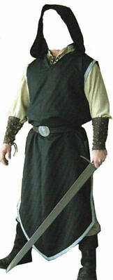 Black Color Medieval Viking Renaissance Clothing Tunic For Reenactment Theater • 39.99£
