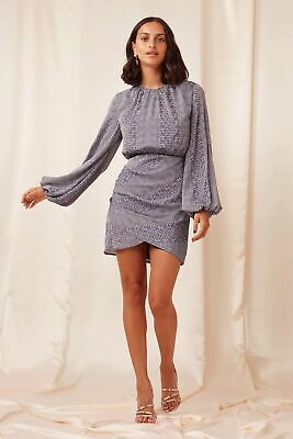 AU120 • Buy Finders Keepers Catalina  Mini Dress Navy Size M Brand New With Tags