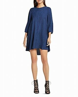 AU42.99 • Buy BCBG Generation Blue Women's US Size Small S Python Print Shift Dress $88 #399