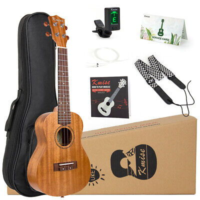 AU60.99 • Buy Ukulele Concert 23 Inch Mahogany Ukulele Hawaii Guitar Kit For Beginner