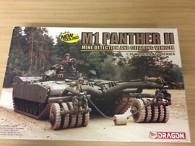 M1 Panther II 1:35 Mine Detection And Clearing Vehicle Dragon No. 3534  • 34.99£