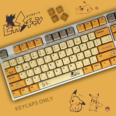 £24.79 • Buy 108 Thick PBT Anime XDA Profile ANSI Keycaps Fit Cherry MX Mechanical Keyboards