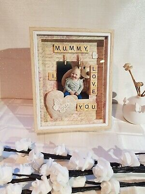 £15 • Buy Mummy Scrabble Picture Frames
