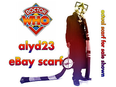 Doctor Who Tom Baker Style Scarf 100% Wool Hand Made Unique 4.6m Cosplay • 29.99£