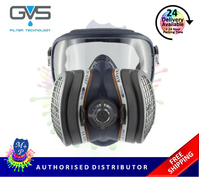 GVS Elipse Integra A1P3 RD SPR401 Half Mask (Goggles And Filters) Size M/L  • 52.99£