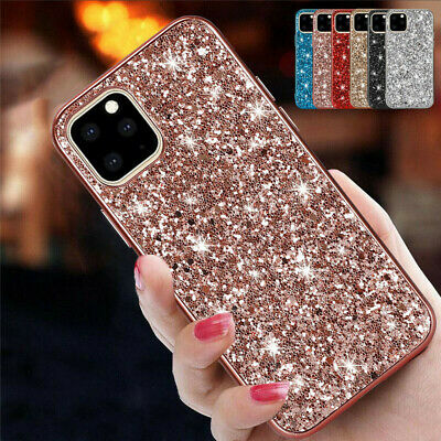 AU5.69 • Buy For IPhone 11 12 XS MAX XR 8 7 Shockproof Bling Glitter Sparkly Hard Case Cover
