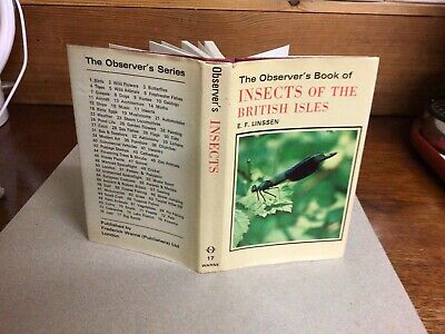 £7.99 • Buy Observers Book Of Insects 1978: