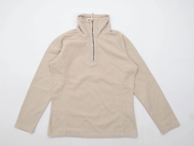 Craghoppers Womens 12 Beige Fleece Jacket • 10£