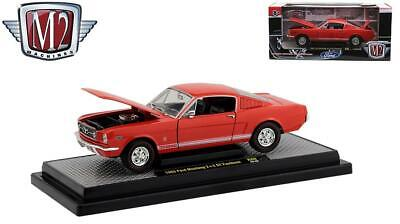 $29.99 • Buy New M2 Machines 1:24 Scale 1965 Ford Mustang 2+2 GT Fastback 40300-80A