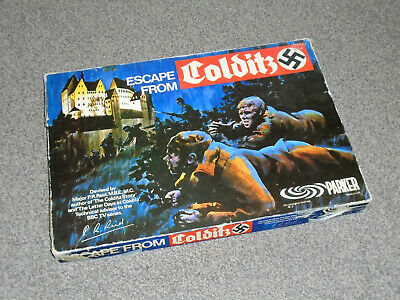 Escape From Colditz Game - Rare 1973 Vintage Parker Edition - Vgc (free Uk P&p) • 47.99£