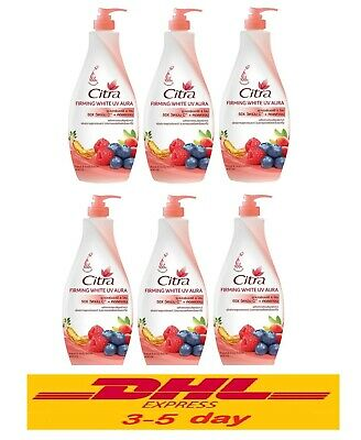 $ CDN136.73 • Buy 6 X 400ml CITRA: Firming White UV Aura Vitamin C + Collagen Hand And Body Lotion