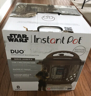 $ CDN188.42 • Buy NEW! Star Wars Instant Pot Duo Chewbacca Limited Special Edition Cooker- 8 Quart