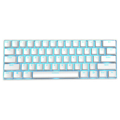 AU61.69 • Buy RK61 Wireless Bluetooth Wired Mechanical Backlight Gaming Keyboard (White)