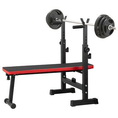 £45.90 • Buy Adjustable Weight Bench Gym Workout Flat/Incline Sit Up Lifting Barbell Bench UK