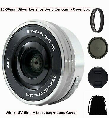 AU128.99 • Buy Sony E 16-50mm F/3.5-5.6 Power Zoom Silver Lens SELP1650 For Sony E-Mount Camera