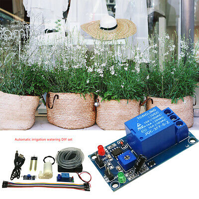 £6.64 • Buy DIY Automatic Drip Irrigation Plant Kit Greenhouse Self Watering Timer System