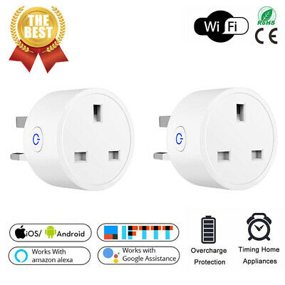£11.03 • Buy Smart WiFi Plug Wireless Smart Socket Power Switch Outlet Remote Control Timer