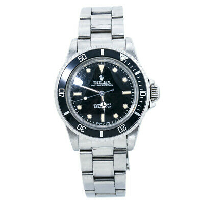 $ CDN12242.27 • Buy Rolex Submariner Vintage 5513 Spider Dial 8.9 Mil Unpolished Patina Watch 40mm