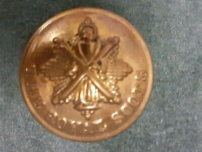 £3.30 • Buy The Royal Scots WW1/2 25mm Button, Firmin