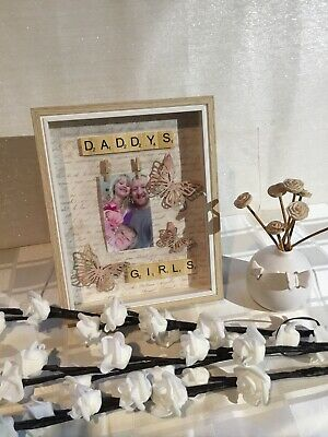 Daddy  Scrabble Picture Frames • 15£