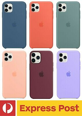 AU32.90 • Buy IPhone 11 Pro Max (6.5 ) Genuine Apple Silicone Slim Shockproof Protection Case
