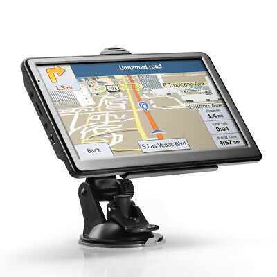 AU79.49 • Buy GPS Navigation For Car 7 Inch Touch Screen 8GB 256MB Satellite Navigator