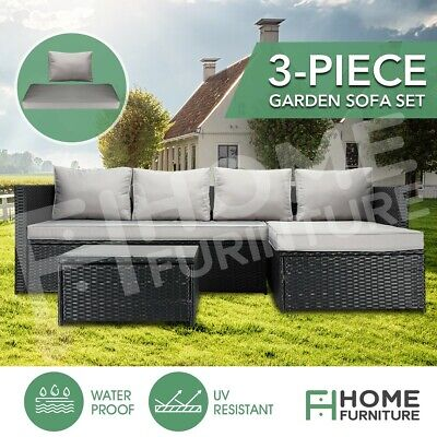 AU499.39 • Buy Outdoor Furniture Couch Lounge Sofa Setting Garden Patio Balcon Table&Chairs Set