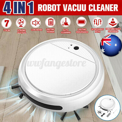 AU29.99 • Buy USB Smart Auto Robotic Vacuum Cleaner Robot Sweeper Machine Edge Rechargeable
