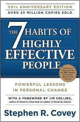 AU24.95 • Buy NEW The 7 Habits Of Highly Effective People Dr Stephen Covey | Free Post AU