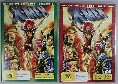 AU29.99 • Buy X-Men Animated Volume 2 Disc 1 And 2 DVD TRACKED POST