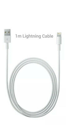 AU11.99 • Buy Apple 1m Lighting Charger Cable For IPhone And IPad - White (MD818ZM/A)