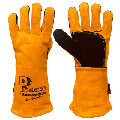 £9.99 • Buy High Quality Affordable Predator Signature 16 Inch Mig Gauntlet Welding Gloves