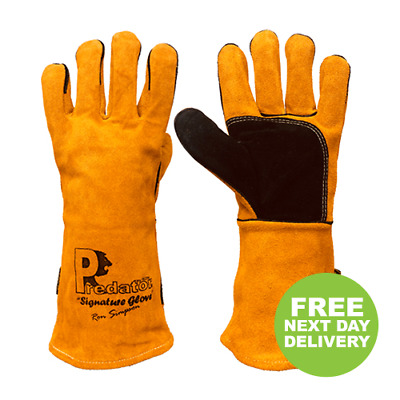 £10.99 • Buy Predator Signature 16 Inch Mig Gauntlet Welding Gloves High Quality Affordable