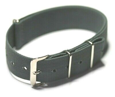 Original Mod Specification Nylon Nato G10 Watch Strap Made In Wales Fixed Buckle • 15.95£